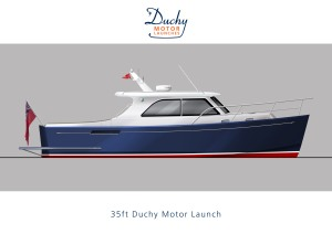 35ft Duchy Motor Launch